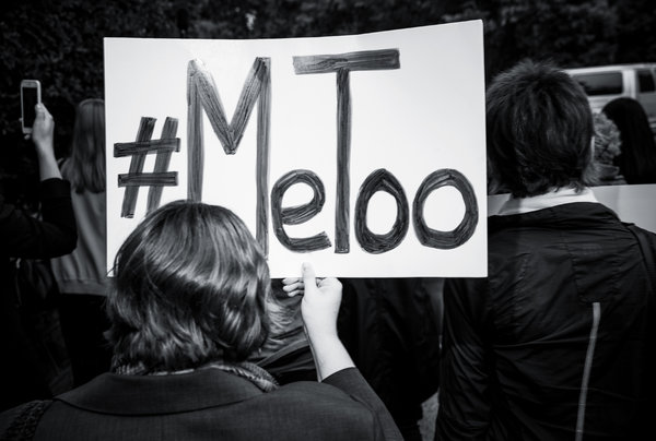 Me Too Movement March Sign